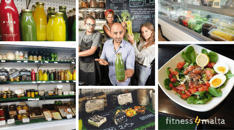 Fitness & Yoga holiday in Malta - Healthy Food Pass