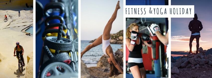 Malta Fitness, weight loss, yoga holiday