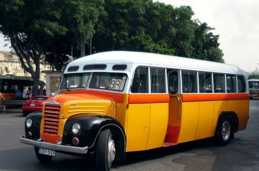 Vintage Bus Rental in Malta