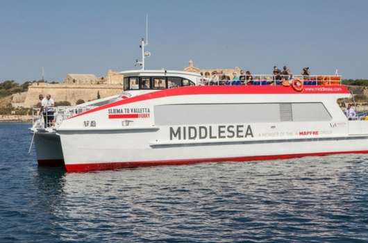 Sliema to Valletta Crossing Ferry